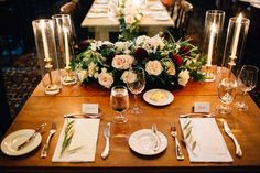 Jessica   Blayne: Private Rocky Mountain Wedding. Wedding Reception, Rustic Wedding, Table Setting