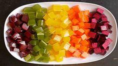 Zdravé želé cukríky bez cukru