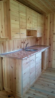 homemade kitchen cabinets