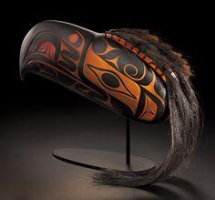 Black Thunder Being Headdress by Joe David / Preston Singletary, Collaboration (X111010)
