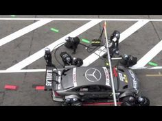 Video: Ralf Schumacher takes out pit crew    Watch Schuey II's Benz hook up on an airline. And then some people. Ouch…