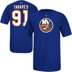 Mens New York Islanders John Tavares Reebok Royal Blue Name   Number T-Shirt cc8baecf1