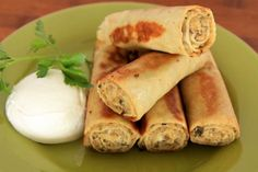 Savory Crepes (Meat and Mushroom Nalesniki) -- not totally easy, as it requires a meat grinder, but sounds scrumptious!