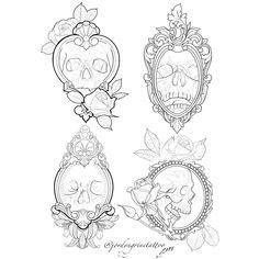 skull tattoos sketch ~ Ink + skull tattoos for women + skull tattoos for men + small skull tattoos + simple skull tattoos + skull tattoos flowers + sugar skull tattoos + skull tattoos sleeve + skull tattoos Small Skull Tattoo, Skull Tattoo Flowers, Skull Hand Tattoo, Sugar Skull Tattoos, Mirror Tattoos, Body Art Tattoos, Hand Tattoos, Sleeve Tattoos, Armband Tattoo Design