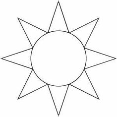 Légend image throughout printable sun template