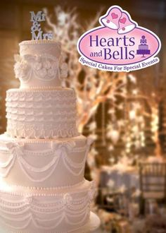 Hearts and Bells specializes in custom made wedding and birthday cakes that have been received with much delight by discriminating couples and celebrants. Each cake is custom designed to reflect your own personal taste and style.  www.beforeidobridalfair.com  #beforeidobridalfair, #beforeidobridalfairexhibitor #bridalfair #weddingfair #weddingexpo #wedding #debut #weddingprenup #weddingpreparation #partyplanning #eventplanning #cake, #heartsandbells, #weddingcake, #birthdaycake
