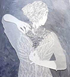 Arte em papercut por Eugenia Zoloto