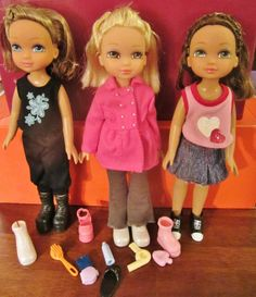 MGA Best Friends Forever Dolls. Don't you two have some of these?