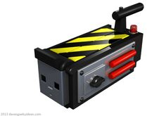Ghostbusters USB Trap by Dave's Geeky Ideas