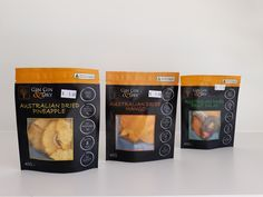 In store now- our local Dried Fruit Company- Gin Gin  & Dry- dried mango, pineapple and fruit salad