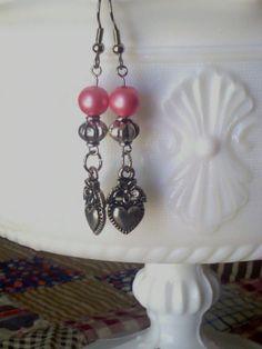 Valentine's Day earrings