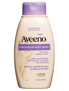 Aveeno Stress Relief body wash. The scent is very natural. I wish the scent wasn't so strong
