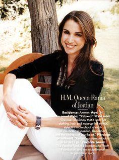 Queen Rania of Jordan. #humanitarian