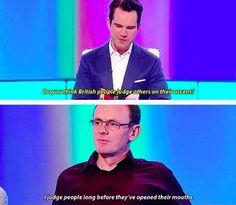 The British attitude...