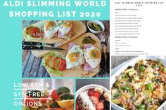 Aldi Slimming World Shopping List 2020 - Savings 4 Savvy Mums
