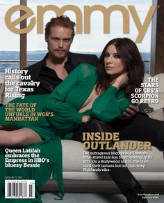 Sam Heughan y Caitriona Balfe: Photoshoot para Emmy Magazine