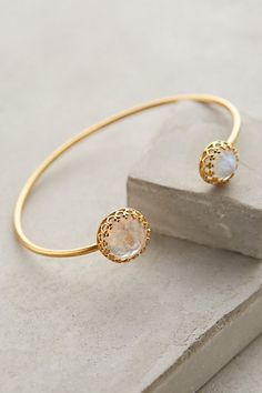 Gallantry Moonstone Cuff #anthrofave #anthropologie.com