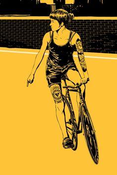 Ilustra2: Adams Carvalho | Ciclismo Urbano
