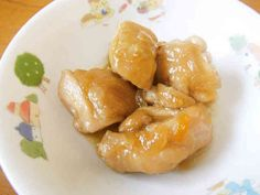 鶏肉のマーマレード煮【保育園給食】の画像