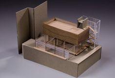 Botanist Studio apartment architectural model