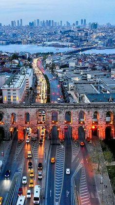 Translated version of test.txtD ❤ Bozdoğan Aqueduct, Istanbul TURKEY (Bozdoğan Aqueduct or all d . Places To Travel, Places To Visit, Turkey Destinations, Capadocia, Photo Voyage, Istanbul Travel, Beautiful Nature Wallpaper, Turkey Travel, Sri Lanka