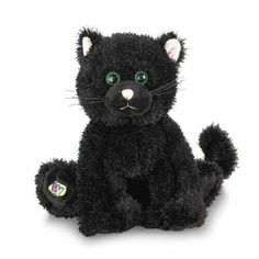 Webkinz Black Cat Plush with Sealed Code Tag HM135 661371006888 | eBay Webkinz Stuffed Animals, Pet Halloween Costumes, Halloween 2020, Halloween Ideas, Cats For Sale, Alley Cat, Cat Doll, Cute Cats, Adorable Kittens