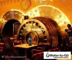 Se l'acqua è oro blu... Water-to-Go la sua cassaforte  #watertogo
