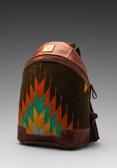 WILL LEATHER GOODS Oaxacan Dome Backpack in Cognac