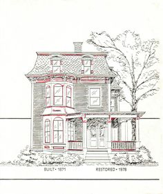 Second Empire- mansard roof is a good clue to this style