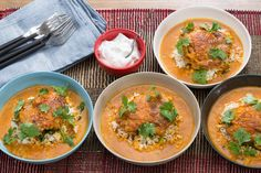 Tandoori Chicken & Brown Rice with Coconut-Tomato Sauce & Mint Yogurt - Arbonne approved if you leave out the side of yogurt sauce