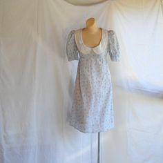 Peter pan collar mini dress