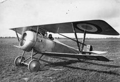 FRENCH AIRCRAFT FIRST WORLD WAR (Q 67919)   Nieuport 17 single seat fighter biplane. Serial number N1539.