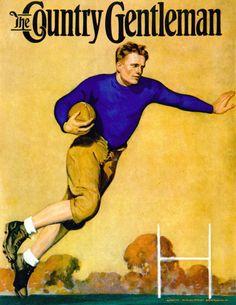 *Country Gentleman Cover...John Newton Howitt (1885 –1958)