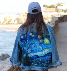 http://sosuperawesome.com/post/162875658920/hand-painted-denim-jackets-by-lily-garifullina-on