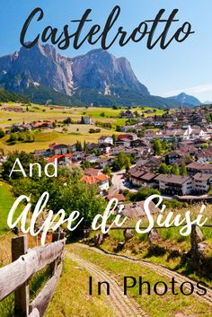 Welcome to my favorite destination in Italy...Castelrotto and the Alpe di Siusi. It's gorgeous! Click through to see some of my favorite images. You won't regret it! #travel #italy #dolomites #italytravel #adventuretravel #wanderyourway