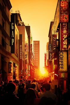 The Golden Hour, Seoul | South Korea
