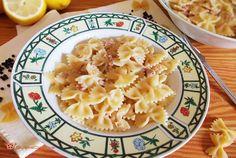 Pasta fredda tonno e limone un primo piatto veloce, che si può preparare in anticipo. Un piatto fresco e profumato. Scopri la ricetta...