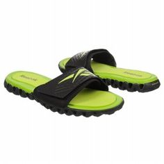 Reebok ZigNano Slide Shoes (Blk/Charged Green) - Men's Shoes - 13.0 M