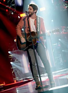 Photos by Thomas Rhett Photos: CMT Ultimate Kickoff Party Rehearsals Country Music Lyrics, Country Music Artists, Country Singers, Boy Celebrities, Celebs, Chris Stapleton, Perfect Husband, Easton Corbin, Jake Owen