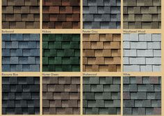 Shingle Colors Roofing Shingles And Roof Shingle Colors