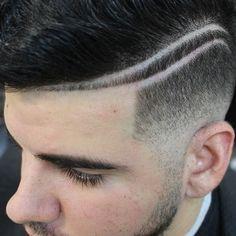 pen RAZOR by Magia - Narzędzie do Hair Tatto, Konturowania - Perfect Studio Slick Hairstyles, Undercut Hairstyles, Barber Haircuts, Haircuts For Men, Haare Tattoo Designs, Short Hair Cuts, Short Hair Styles, Hair Designs For Men, Brylcreem