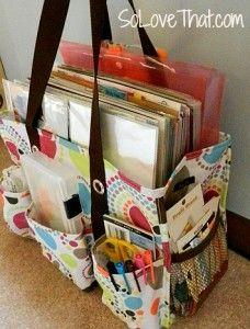 Travel Scrapbook bag!
