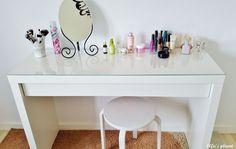 Elfie's planet: Moja minimalistyczna toaletka - IKEA MALM