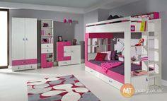 Dievčenská izba s poschodovou posteľou Adela 1