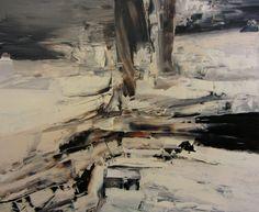 "Saatchi Online Artist Aleksandra Bouquillon; Painting, ""discontinuity - sold"" #art"