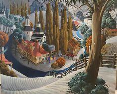 George Callaghan Painting ~ 'Huon Snow' - Gallery Salamanca