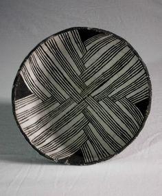 Anasazi Bowl with Basketweave Pattern