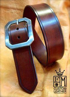 Boucle de ceinture en cuir marron cuir bride par mataradesign Boucle De  Ceinture, Vetement Cuir 05856e242cb