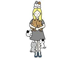 今週のとんぼせんせい「ネコとガール」