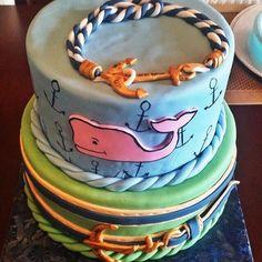 Vineyard Vines Cake Sea Cakes Best Sweets Creative Birthday Parties 16th